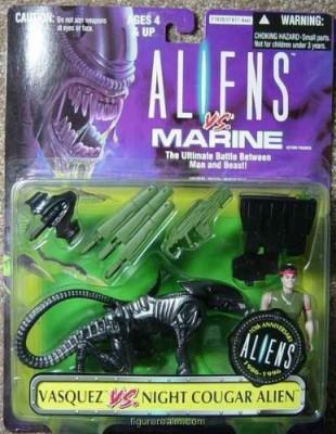 Kenner, 1996 Aliens Kenner Vasquez Vs Night Cougar Alien
