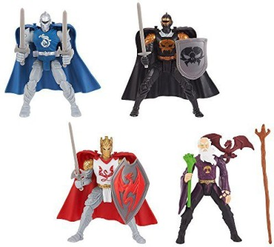 Toys R Us True Legends Knights 4 Inch 4 Pack King