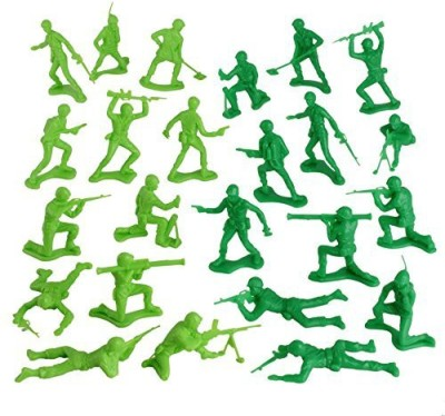 Tim Mee Timmee Plastic Army Men Green Vs Green 96Pc Soldiermade