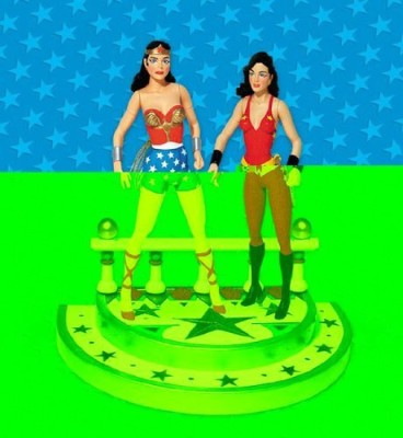 DC COMICS Silver Age Wonder Woman And Wonder Girl