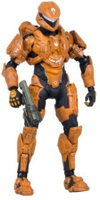 McFarlane Toys Halo 4 Series 2 Spartan Scout (Orange)