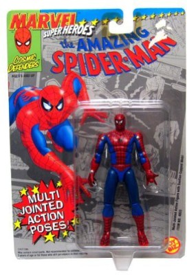 Marvel Super Heroes The Amazing Spiderman With Multijointed Poses