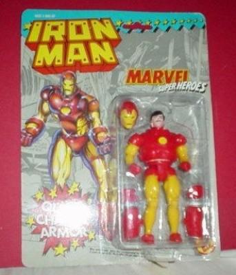 Iron Man Vintage Quick Chage Armour Action Figure (Marvel Superheroes)