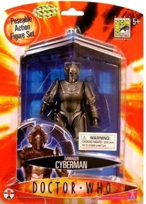 Doctor Who Damaged Cyberman 5