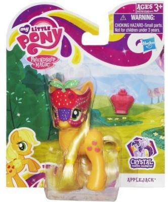 My Little Pony Crystal Princess Celebration Applejack Doll