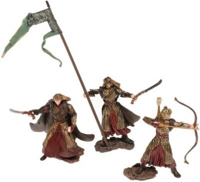 PA Distribution, Inc. Lord Of The Rings 3 Pack Elf Standard Bearer/Elf