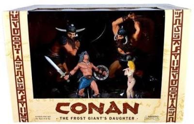 Diamond Comic Distributors Conan The Frost Giant,S Daughter Pvc Set