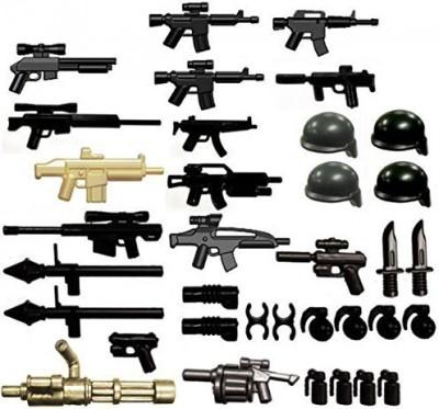 BrickArms Weapon Packs Modern Assault Pack