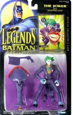 Batman The Legends of Joker with Snapping Jaw Action Figure(Multicolor)