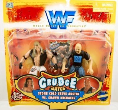 WWF Wwe Grudge Match Stone Cold Steve Austin Vs Shawn Michaels