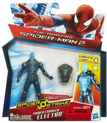 Spiderman Marvel Amazing 2 Spider Strike Power Charged Electro