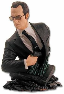 The Matrix Agent Smith Mini Bust