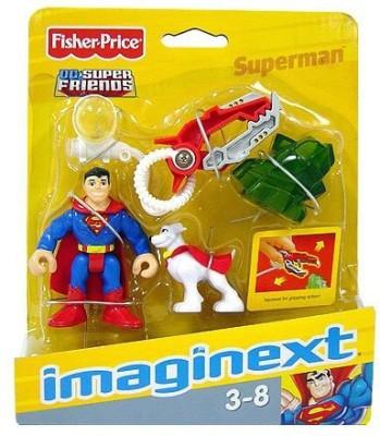 Imaginext Dc Super Friends Mini Superman