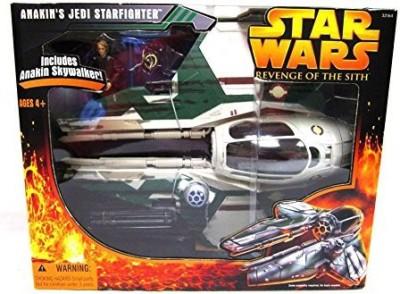 Star Wars Anakin,S Jedi Starfighter Green Rots With