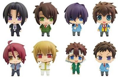 Animewild Hakuoki Color Collection Sweet School Life Series Mini Pvc
