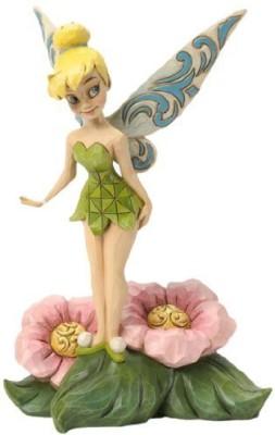 Jim Shore for Enesco Disney Traditions Tinker Bell Standing On Flower