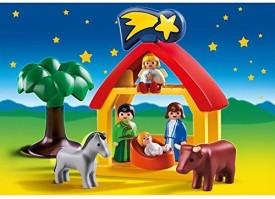 PLAYMOBILA Playmobil Christmas Manger Playset(Multicolor)