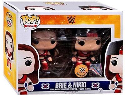 Pop Funko Wwe Exclusive 2 Pack Bella Twins (Brie & Nikki)