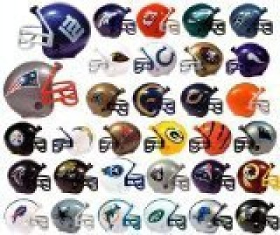 NFL Football Mini Helmets