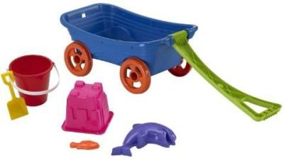 American Plastic Toys Plastic Toys Beachcomber Wagon Set(Multicolor)