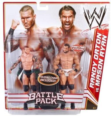 Mattel Wwe Battle Pack Randy Orton Vs Mason Ryan 2Pack Series 14