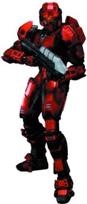 Square Enix Halo Play Arts Kai Red Spartan