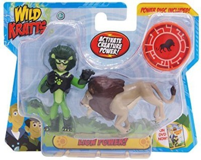 Wicked Cool Toys Wild Krattsanimal Power Setlion Power