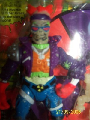 Playmates Toxic Crusaders Series 1 Bonehead