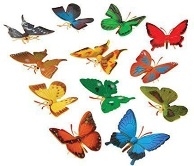 US Toy Mini Butterflies (12 Pack)