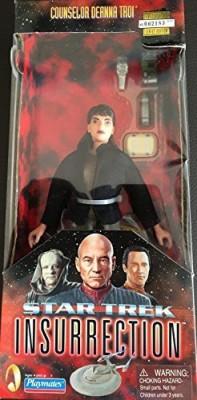 Star Trek Deanna Troi Insurrection With Fabric Clothing 9