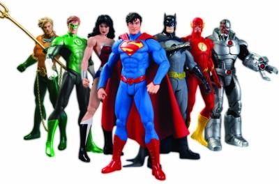 DC Collectibles DC Comics New 52 Justice League 7 - Pack Action Figure Box Set