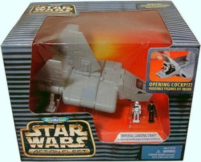 Micro Machies Action Fleet Star Wars Fleet Imperial Landing Craft