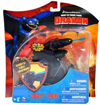Dreamworks How To Train Your Dragon Exclusive 7 Inch Night Fury