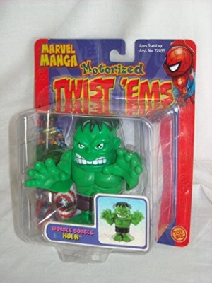 Toy Biz Marvel Manga Wobble Bobble Hulk Motorized