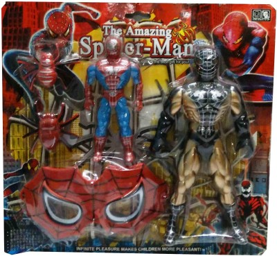 Shop & Shoppee The Amazing Spider-Man Action Figure with Mask