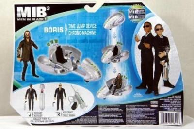 Jakks Pacific Men In Black Cosmic Quickshift Boris & Time Jump Device
