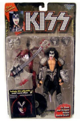 Kiss 1997 Gene Simmons Ultra With Collectible Model Record