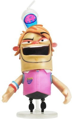Jazwares Fanboy Chum Chum Exclusive 3 Inch Boog Head Bobbing