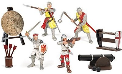 Toy Major Knight With Accessories Playset (4Piece)