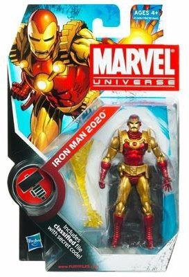 Marvel Universe Iron Man 2020 3-3/4 Inch Scale Action Figure Series 2 Figure 033