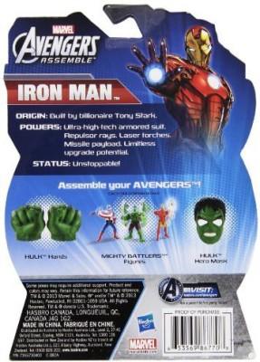The Avengers Allstar Iron Man 4 Inch