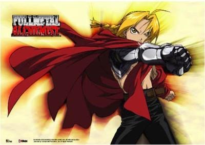 Full Metal Alchemist Fullmetal Alchemist Edward Elric Anime Wall Scroll