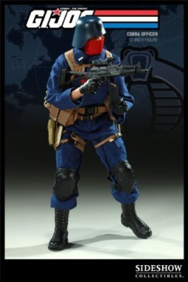 Sideshow Gi Joe Collectibles 12 Inch Deluxe Cobra Officer