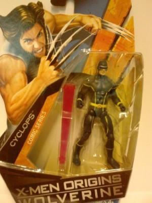 Toy Rocket Xmen Origins Wolverine Comic Series 3 3/4 Inch Cyclops