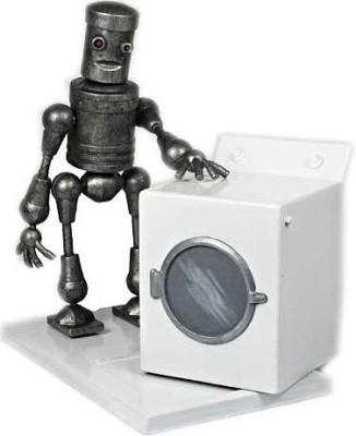 Zoofy International Jazwares Robot Chicken Action Figure Action Robot Washing Machine