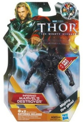 Thor The Mighty Avenger 20 Inferno Marvel,S Destroyer 375 Inch