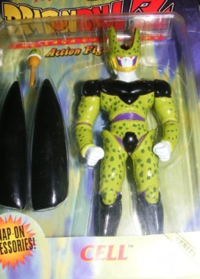 Dragon Ball Z Dragonball Z The Saga Continues Cell Series 3 (Retired) 1999