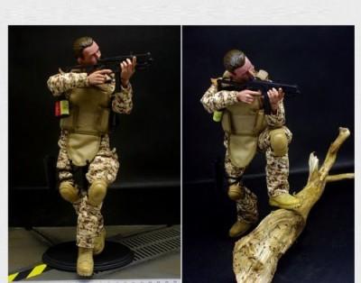 Super System 12,, Special Forces Digital Desert Camouflage