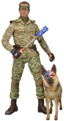 NECA Kick Ass 2 Colonel Stars And Stripes (Unhooded)7