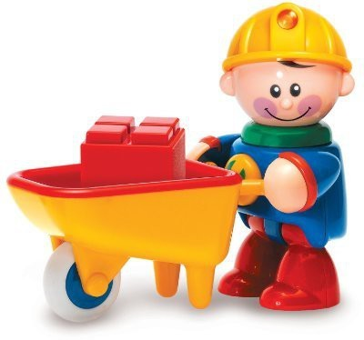 Tolo S First Friends Construction Worker With Wheelbarrow